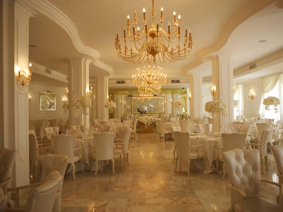 La sala Solange del Sun's Royal Park è perfetta per un luxury event