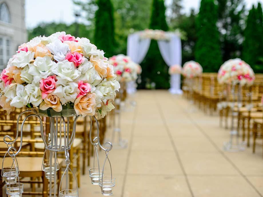 fiori matrimonio sun's royal park